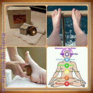 Vital feet bowl massage
